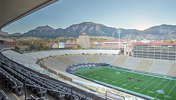 Folsom Field Boulder, CO
